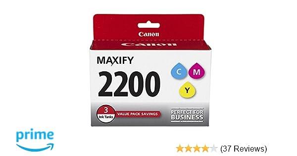 Empty Refillable Ink Cartridges for Canon PGI-2200 MAXIFY IB4120 MB5120 MB5420