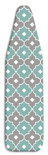 Whitmor Supreme Ironing Board Cover and Pad, Paragon Taupe/Gray by Whitmor
