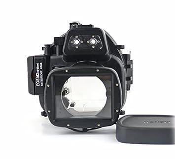 carcasa submarina para cámara Canon EOS M2 18-55mm - Carcasa acuática para cámaras