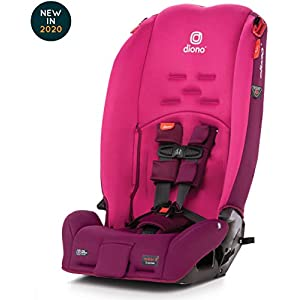 Diono Radian 3R, 3-in-1 Convertible Rear and Forward Facing Convertible Car Seat, High-Back Booster, 10 Years 1 Car Seat…
