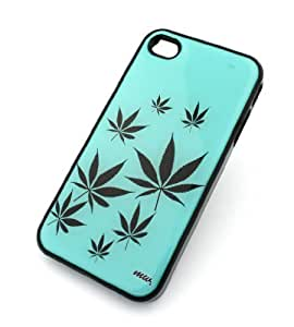 iphone covers BLACK Snap On Case Iphone 6 plus Plastic Cover - PLANT LIFE weed 420 marijuana og kush mj bob marley purple cali diesel