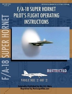 F/A-18 Hornet Pilot's Flight Operating Manual PART for sale  Delivered anywhere in USA