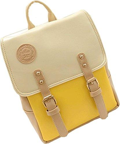 BAOFASHION-Womens-PU-Purse-Small-Shoulder-Bag-Girls-Backpack