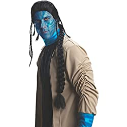Avatar Jake Sully Wig, Black, One Size