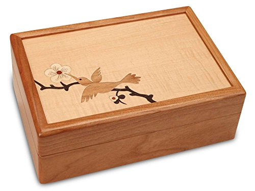 Hummingbird Jewelry Box (Rockford Cherry)