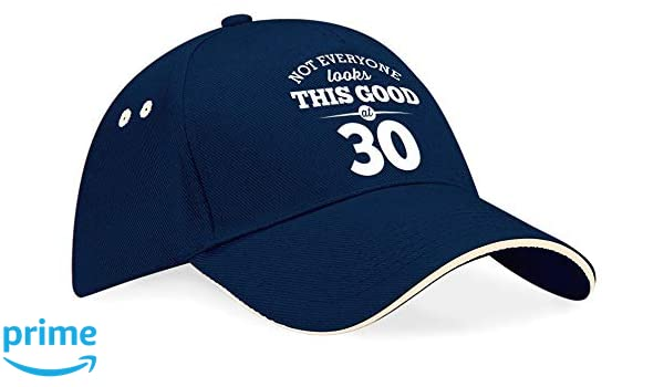 Amazon 30th Birthday Cap Hat Baseball Gift Idea Present Keepsake Novelty Funny For Women Men Handmade