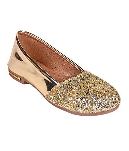 928f1d8c8 Trilokani Good Premium Quality Daily Party Wear Trendy Stylish Comfortable  Golden Glitter Work Cinerella Bellies Belly