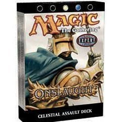 (Magic the Gathering MTG Onslaught Celestial Assault Theme Deck by Wizards)