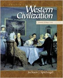 Amazon western civilization volume ii since 1550 western civilization volume ii since 1550 4th edition fandeluxe Images
