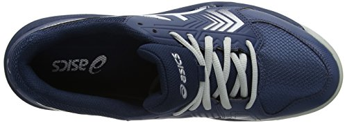 Blu dedicate 5 Gel Tennis dark Uomo 4993 Asics Bluesilverwhite Da Scarpe w0qEXA5
