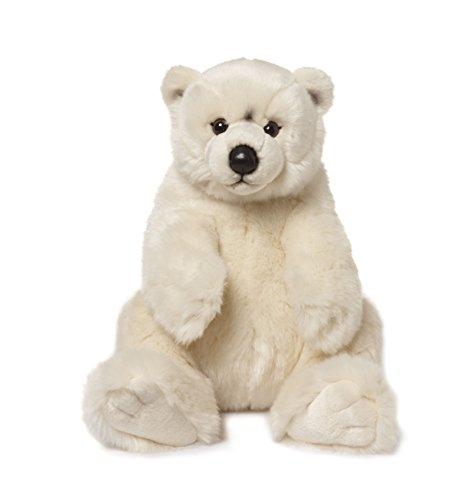 - IBTT WWF Cuddly Polar Bear Plush Stuffed Animal Soft Toy 22cm Sitting