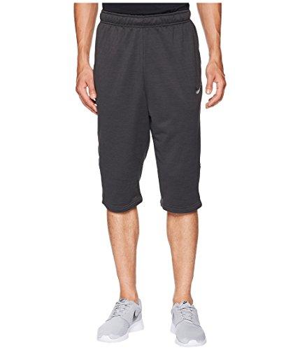 Nike Men's Dry Fleece Long Training Short Black Heather/Black/Anthracite/Black Medium ()