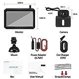 AUTO-VOX W7 Wireless Backup Camera Kit, 5 Inch