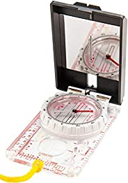 Sighting Compass Mirror Adjustable Declination - Lensatic Military Compass Hiking - Tactical Army Compass Surv