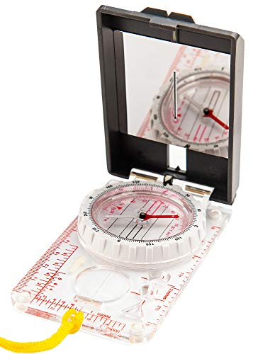 Sighting Compass Mirror Adjustable Declination