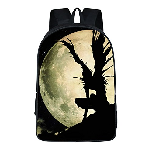 YOYOSHome Anime Death Note Cosplay Daypack BookBag Rucksack Backpack School (Death Note Light Yagami Cosplay Costume)