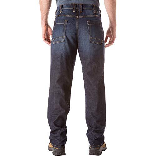 5.11 Defender-Flex Jean - Strt Dark Wash Indigo, 38