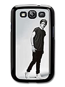 Niall Horan Black & White Full Body Shot One Direction 1D Directioner case for Samsung Galaxy S3 hjbrhga1544
