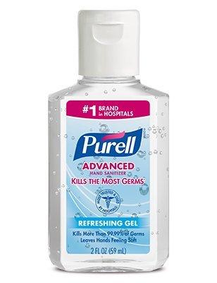 Purell Advanced Hand Sanitizer Refreshing Gel with Flip Top