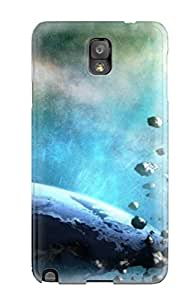 AYOaJoZ65CDyoY Case Cover Fantastic Space Art Galaxy Note 3 Protective Case