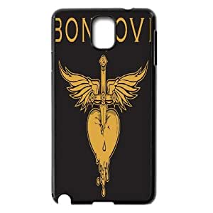 Bon Jovi Samsung Galaxy Note 3 N9000 Phone Case, Bon Jovi Personalized Hard Back Cover, Samsung Galaxy Note 3 N9000 Customized Case