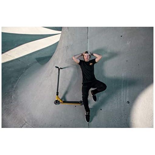Nitro Circus Ryan Williams RW – Réplique de la Trottinette Complète Signature Freestyle Pro du Champion Junior – Trottinette Enfant – Style Superbe – Roues de 100 mm