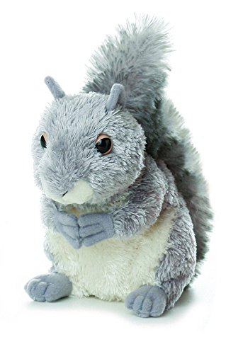 Plush Nutty Gray Squirrel 6 5 product image