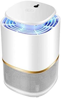 LIUDIEGE 屋内ホーム用USBモスキートキラーランプエレクトリックない放射線環境モスキートランプスーパーサイレントフライブヨ害虫キャッチャー (Color : White)