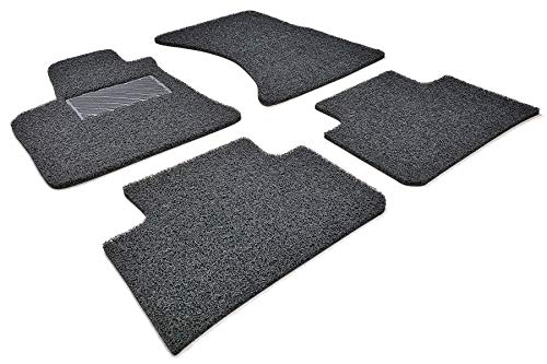 AutoTech Zone Heavy Duty Custom Fit Car Floor Mat for 2007-2017 Jeep Patriot SUV, All Weather Protector 4 Piece Set (Black)