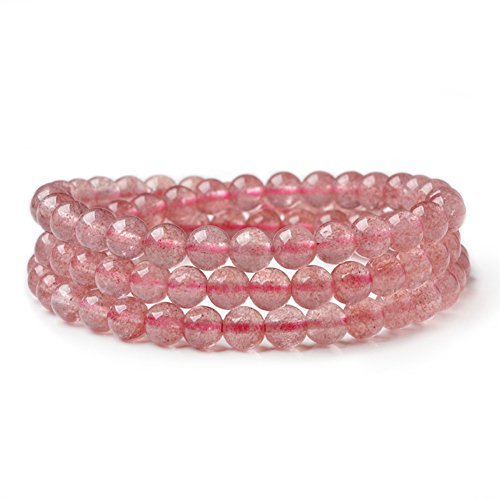 strawberry quartz crystal - 6