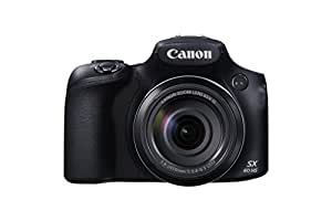 "Canon PowerShot SX60 HS - Cámara compacta de 16.8 Mp (pantalla de 3"", zoom óptico 65x, estabilizador, vídeo Full HD), negro"