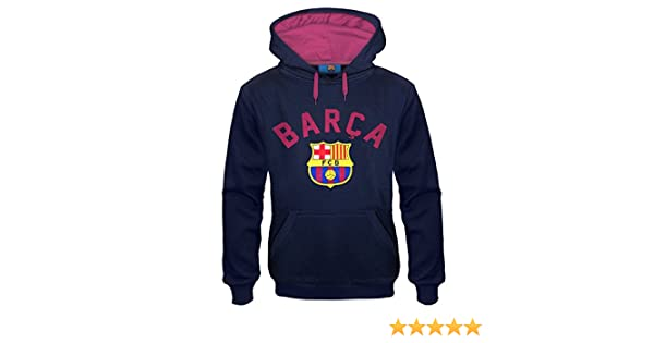 Amazon.com: FC Barcelona Official Soccer Gift Mens Graphic Fleece Hoody: Clothing