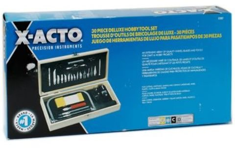 X-Acto Deluxe Hobby Tool Set 1 pcs sku# 1841634MA by X-Acto