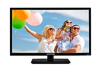 "Sceptre E245BD-FHD 24"" LED Display 1920x1080 Full HD HDMI VGA USB, True Black (2017)"