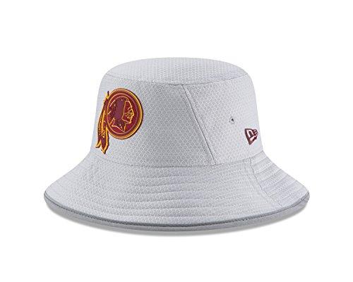 Washington Redskins Hats - New Era Washington Redskins NFL 2018 Training Camp Sideline Bucket Hat - Gray