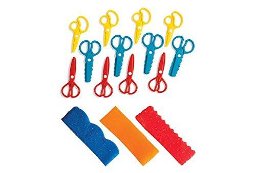 Colorations DSCISSOR Fun Dough Scissors (Pack of 12)