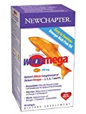 New Chapter Wholemega Tiny Caps Whole Fish Oil with Omegas and Vitamin D3 - 90 ct (3 pack)