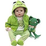"Belegend NPK Reborn Doll 55cm/21.7"" Soft Silicone Lifelike Jointed Toys Cute Frog Kids Children Gifts"