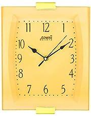 ساعة حائط سونيرا مستطيلة 2061 بيج اللون