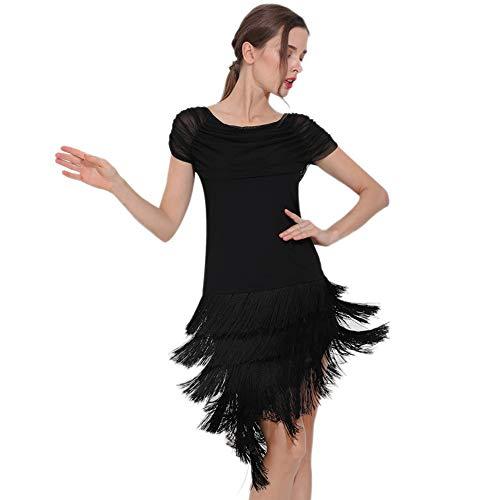 Set Zddab americani Teatrali Seta Longobarda Al Competizione Abito Di Per Latino Derivazione Da Abiti Danza Nappe Latte Performance Sexy Adatto Femminile Ballo Adulti La x0a6Pw1gq