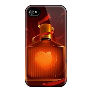 Iphone 5/5s Case Slim [ultra Fit] Magic Love Drop Protective Case Cover