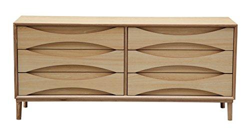 Kardiel STO-DR DBL-NT Arne Vodder Lowboy Chest Double Dresser Retro Modern Cabinet 28.3