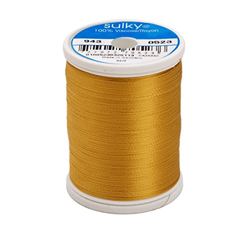 Sulky Of America 268d 40wt 2-Ply Rayon Thread, 850 yd, Autumn Gold