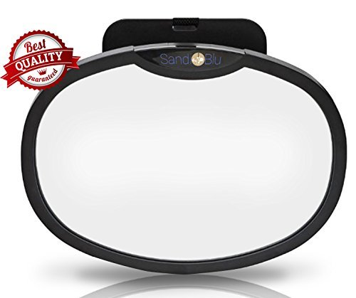 TruReflect Backseat Rear View Baby Car Mirror is Light-Weight, Durable and has a Crystal Clear Reflection, Attach Back Seat Auto Rearview Mirror to the Headrest - for Infant in Rear-Facing Child Car Seat (Cooling Dish compare prices)