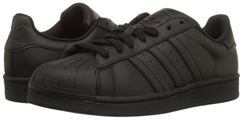 Adidas Originals Men's Superstar Casual Sneaker, Black/Black/Black, 11 M US