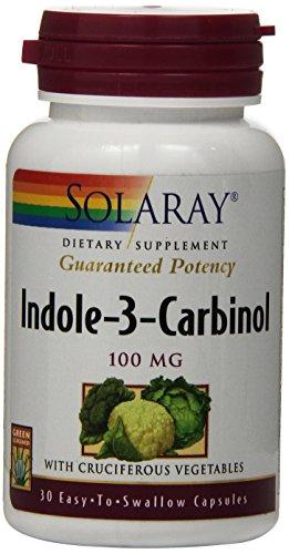 Solaray Indole-3-Carbinol Capsules, 100mg, 30 Count