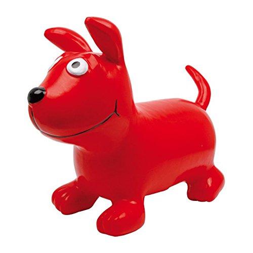 Red Bodo the Dog Inflatible Childrens Hopper Toy Legler 2020040