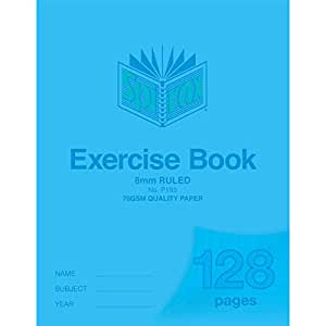 SPIRAX Ruled 193P 8mm Exercise Book, 128 Pages, (56193P)
