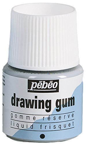 Pebeo Drawing Gum / Masking Fluid For Watercolour 45ML Pot