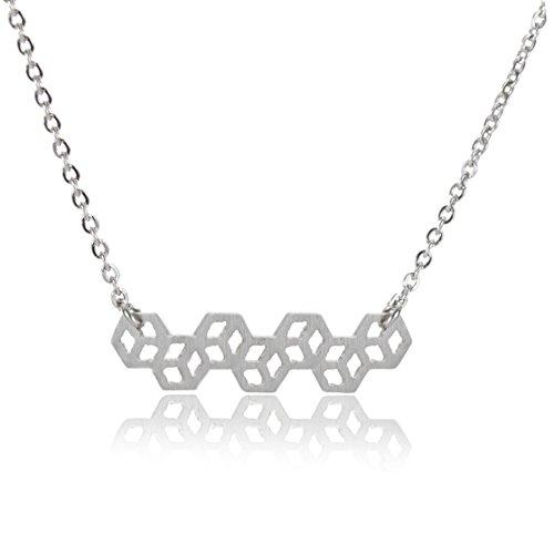 - HUAN XUN DNA Molecule Best Friend Necklaces - Relationship Jewelry 16